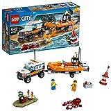 Lego City 60165 - Geländewagen mit Rettungsboot