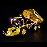 SICI LED Beleuchtungsset für LEGO Technik Volvo Dumper, Beleuchtung Licht Kompatibel mit Lego 42114 Muldenkipper Modell (Nicht Enthalten Lego Set)