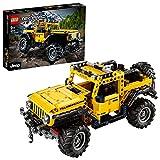 LEGO 42122 Technic Jeep Wrangler 4x4 Spielzeugauto, Geländewagen, SUV Modell Bauset für Kinder und Erwachsene