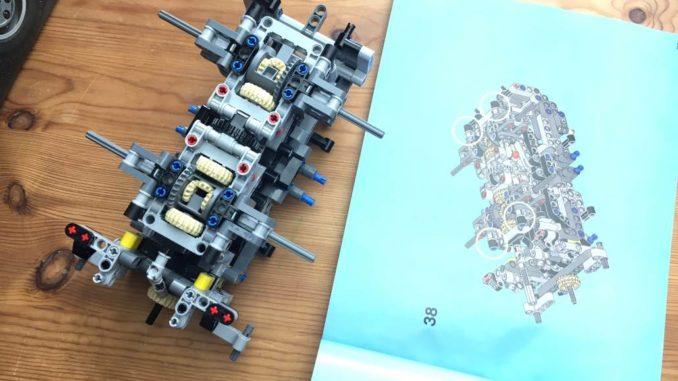 Lego technic 42043 Hinterachs-Modul