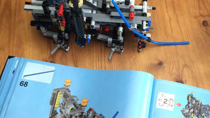 Lego Technic 42043 Vorderachs-Modul