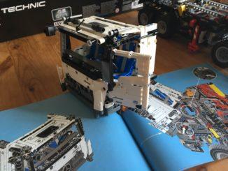 Lego Technic 42043 Fahrerkabine