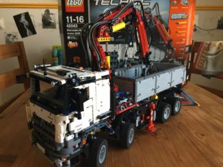 Lego Technic 42043 fertiges Modell