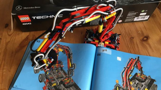 Lego Technic 42043 Ladekran by Brick-Family.de