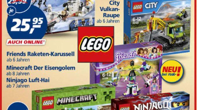 Real Prospekt Lego 20% Rabatt