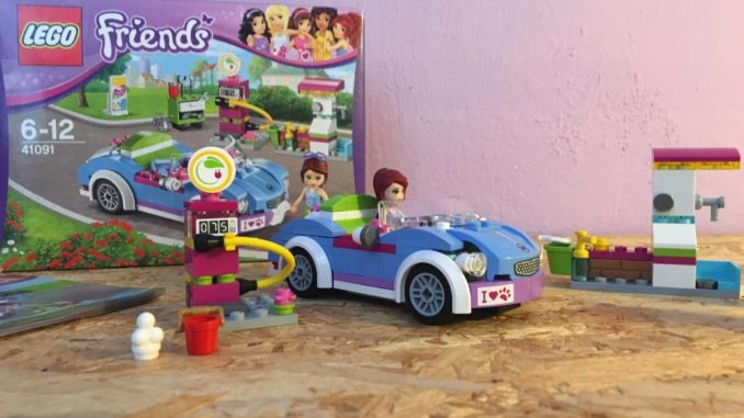 Lego Friends 41091 Mia´s Sportwagen by brick-family.de