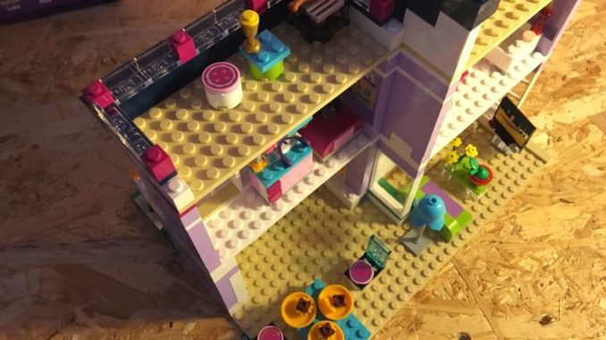 Lego Friends 41095 Dachboden by brick-family.de