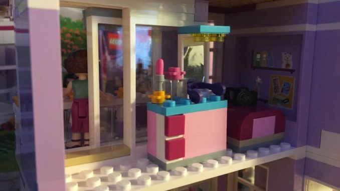 Lego Friends 41095 Kinderzimmer by brick-family.de