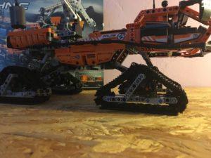 Lego Technic 42038 Arktis Kettenfahrzeug by brick-family.de