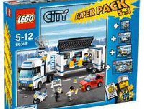 Lego City 66389 Polizei Superpack