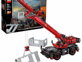 Lego 42082 - geländegängiger Kranwagen