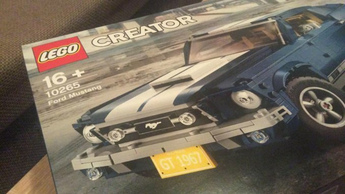 Lego 10265 - Creator Ford Mustang